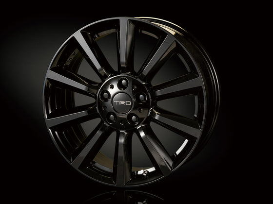 TRD 18 INCHES ALUMINUM WHEEL TF6 BLACK MICA x1  For TOYOTA C-HR 1# 5#  MS213-00098
