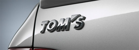 TOMS  EMBLEM CHROME-PLATED  FOR MULTIPLE FITTING   08233-TS001