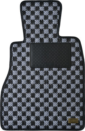 KARO SISAL Floor Mats Sliver/Black  For TOYOTA FT86 3090