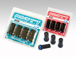 RAYS 17HEX Racing 2 Piece Nut Set (Open End)