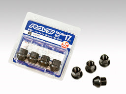 RAYS 17HEX L25 Racing Nut Set (short type)