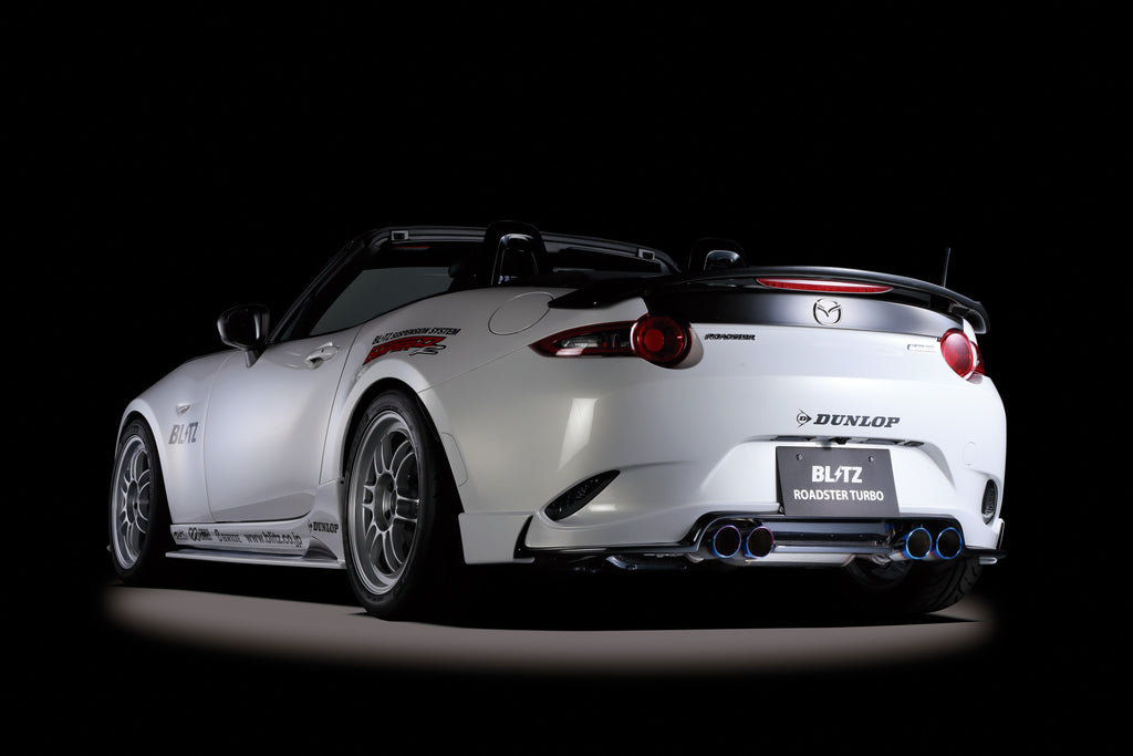 BLITZ NUR-SPEC VSR QUAD EXHAUST  For MAZDA ROADSTER ND5RC P5-VP (RS) P5-VPR (RS) 62140V