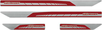 MUGEN Scuff Plate Red  For CIVIC FK8 84200-XNCD-K0S0-RD