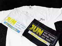 JUN AUTO GREY ORIGINAL T-SHIRTS M APPAREL 9005M-003