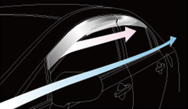 MUGEN Ventilated Visor  For CIVIC TYPE R FD2 72400-XKP-K0S0