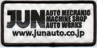 JUN AUTO CLOTH BADGE  For - - 9002M-002