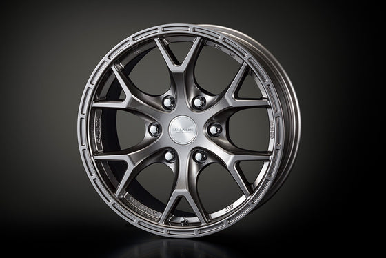 TRD 17 ALUMINUM WHEELS JAOS  GUNMETAL  For LAND CRUISER PRADO 15#  MS213-00115