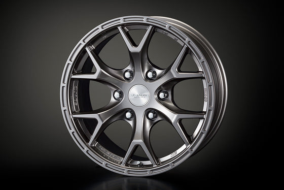 "TRD 17 INCHES ALUMINUM WHEELS ""JAOS TRIBE CROW (GUNMETAL)"" SINGLE  For TOYOTA HILUX 12#  MS213-00115"