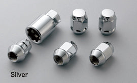 MUGEN Wheel Nut & Lock Set Silver  For ODYSSEY RC1 RC2 RC4 08181-MZ3-K0S0-S