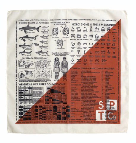 "The San Perdido ""Adventure Flag Two"" Bandana"