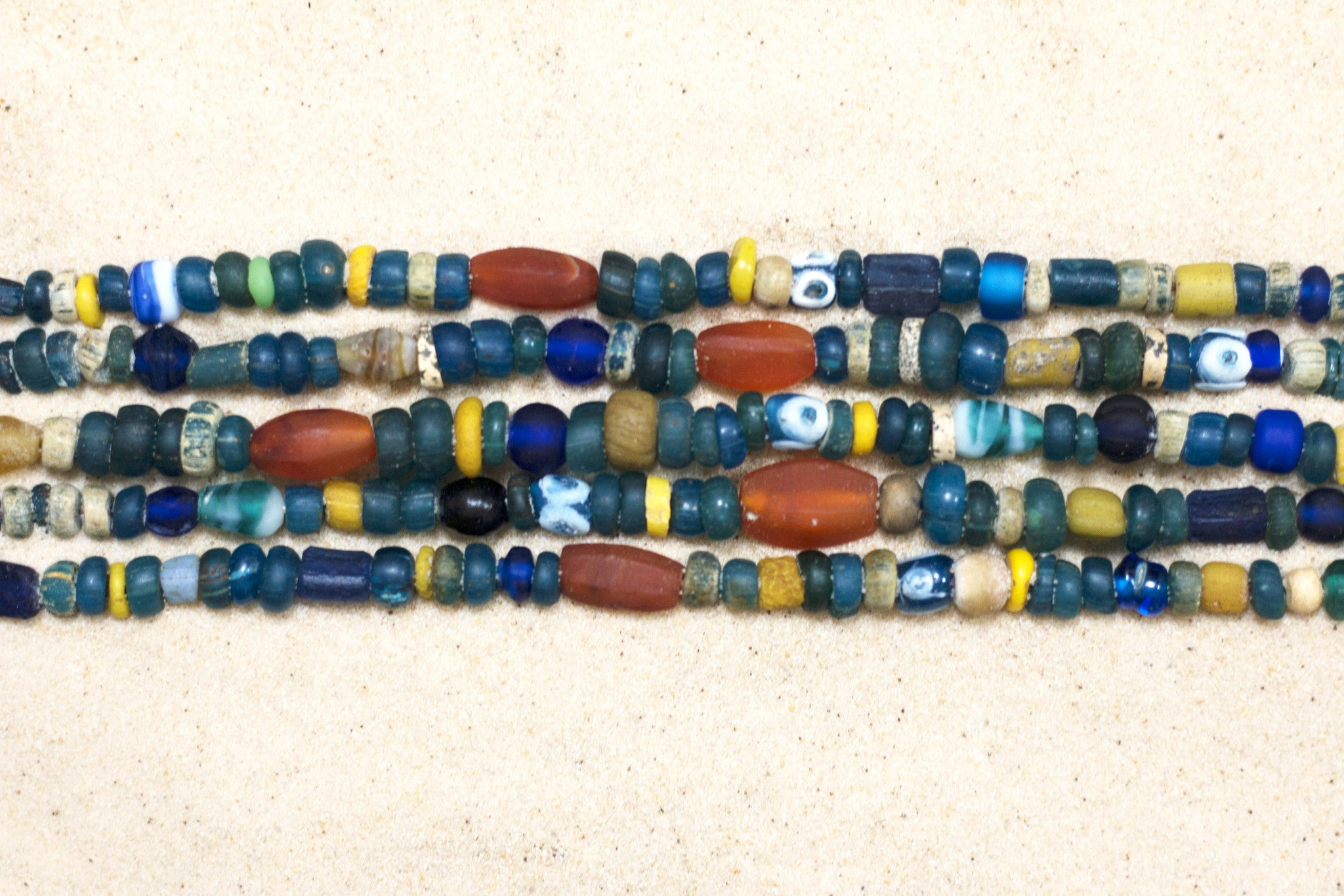 pin by combined trade beads bead necklace mixed are old winds necklaces african junction