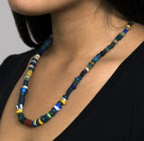 "The Matera ""Aukelos"" Women's Trade Bead Necklace"