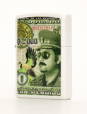 The San Perdido D2000 Banknote Zippo Lighter