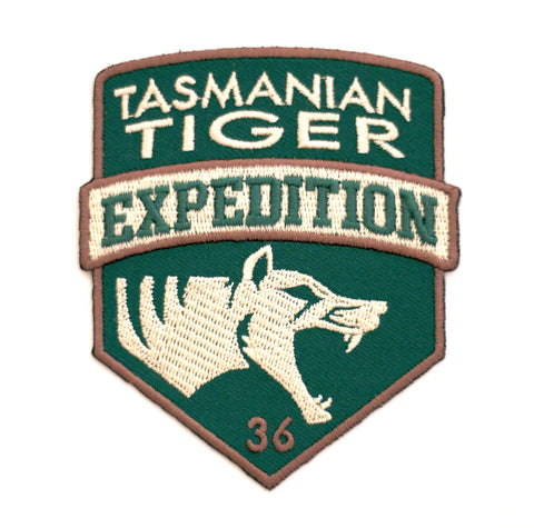 The Tasmanian Tiger Expedition Patch