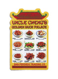 Uncle Cheng's Golden Duck Palace Menu Sticker
