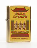 The Uncle Cheng's Golden Duck Palace Zippo Lighter