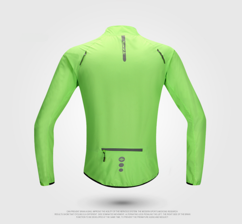 Santic  Emerald Cycling Skin Jacket
