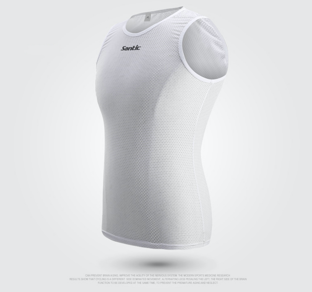 Santic Mesh Sleeveless Base Layer