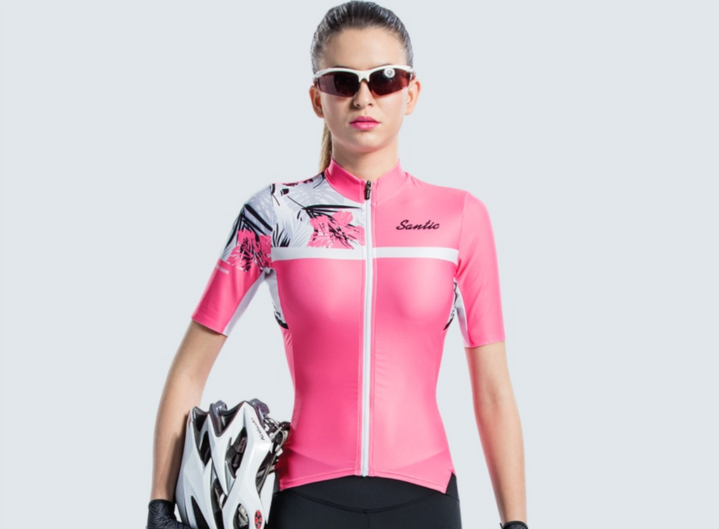 Santic Soppy Women's Short Sleeve Cycling Jersey