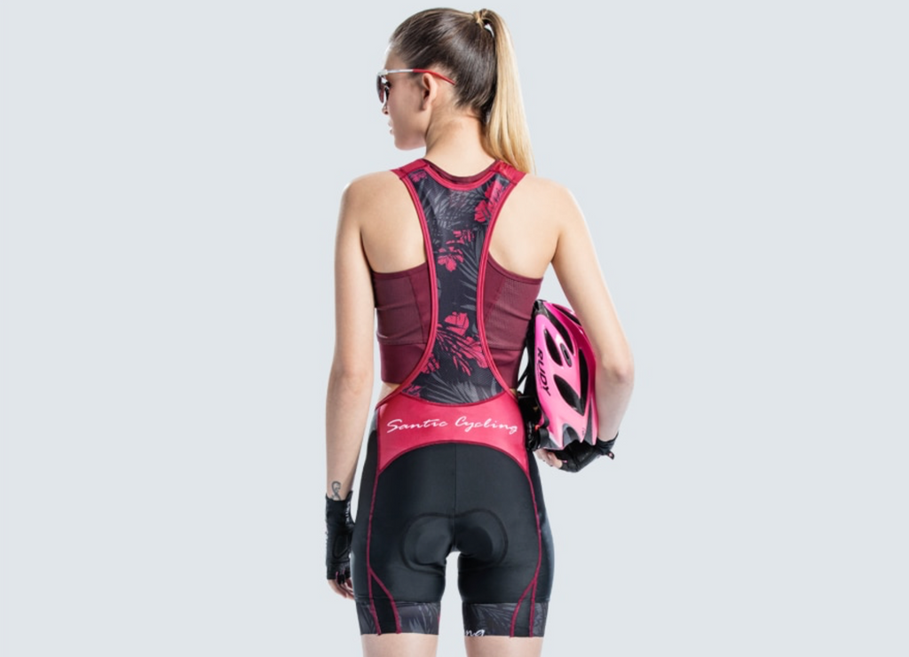 Santic Poppy Women's Cycling Bib Shorts