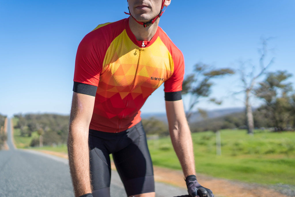 Santic Artist Five Elements Series The Fire Cycling Jersey