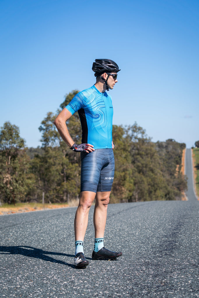 Santic Artist Five elements Series The Water Cycling Jersey