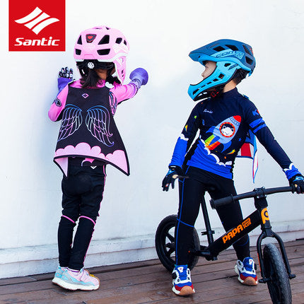 Santic Kids Balance Bike Cycling Cloaks