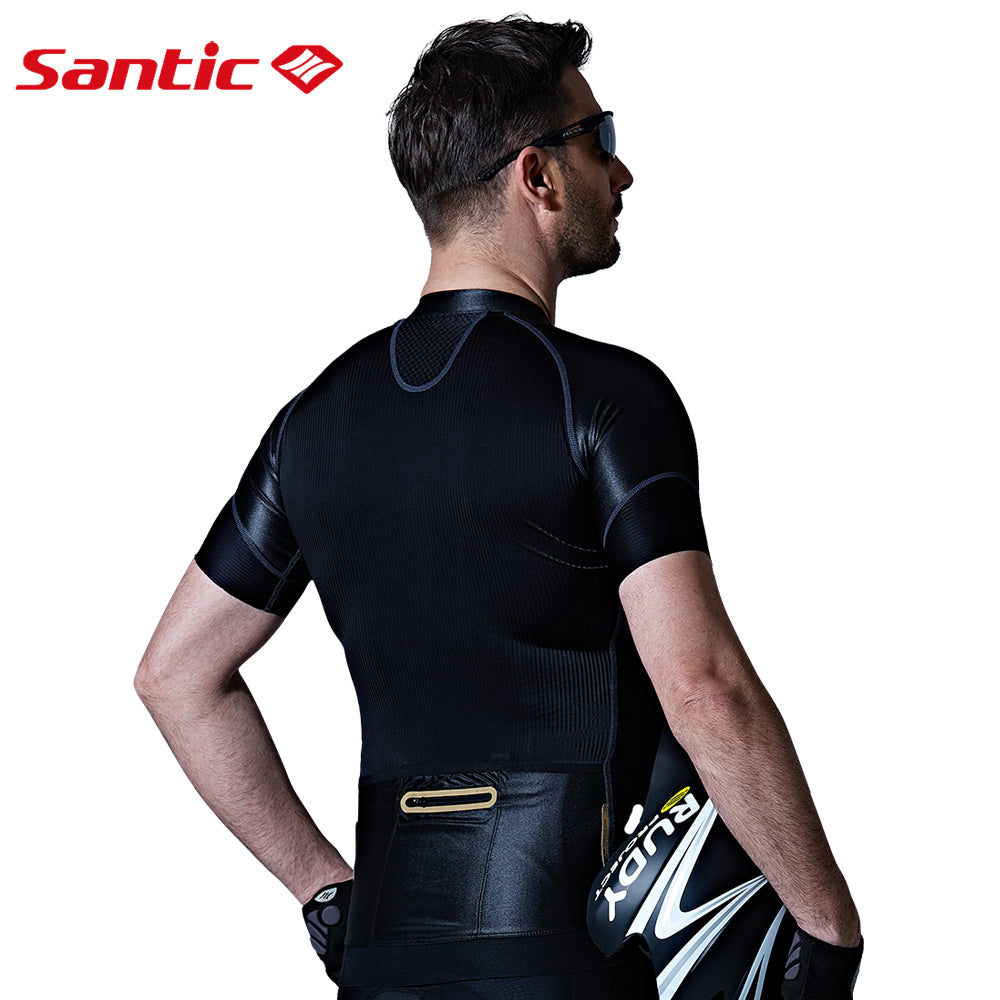 Santic Carbon Men's Short Sleeve Cycling Jersey