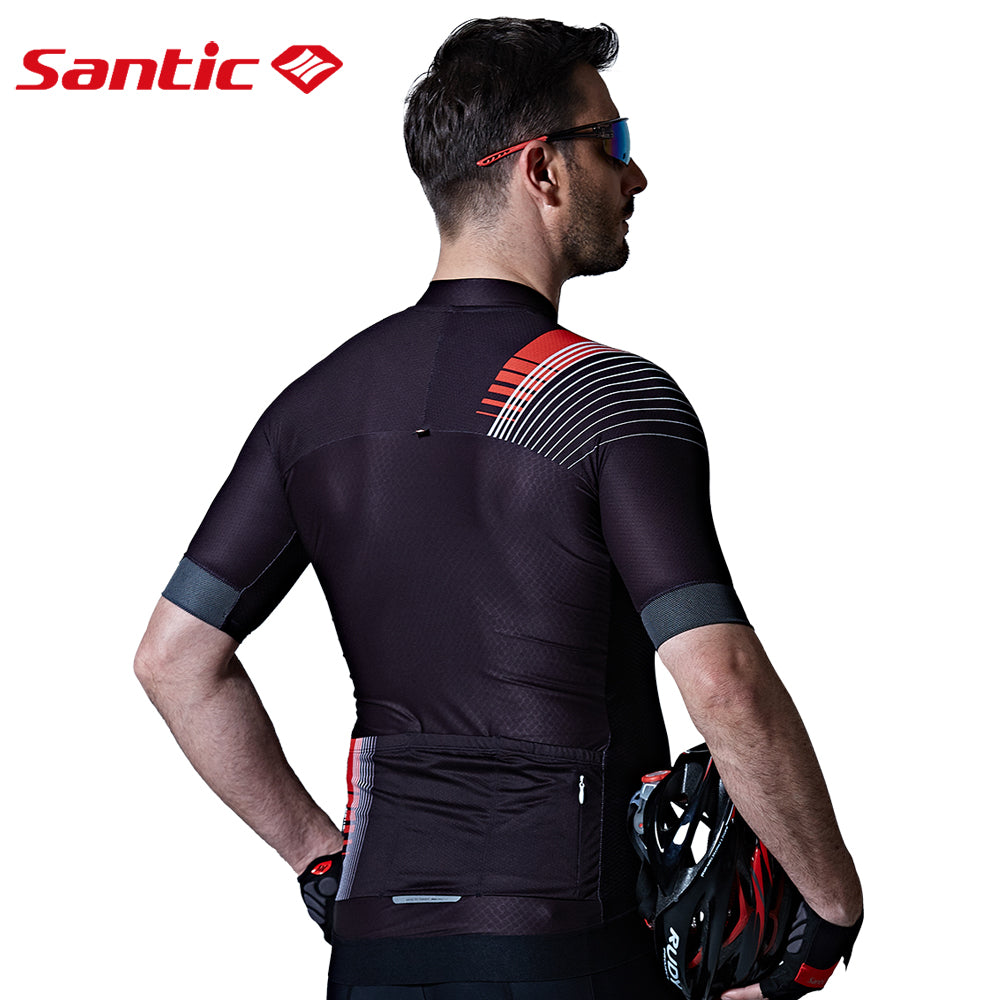 Santic Laser Men's Short Sleeve Cycling Jersey