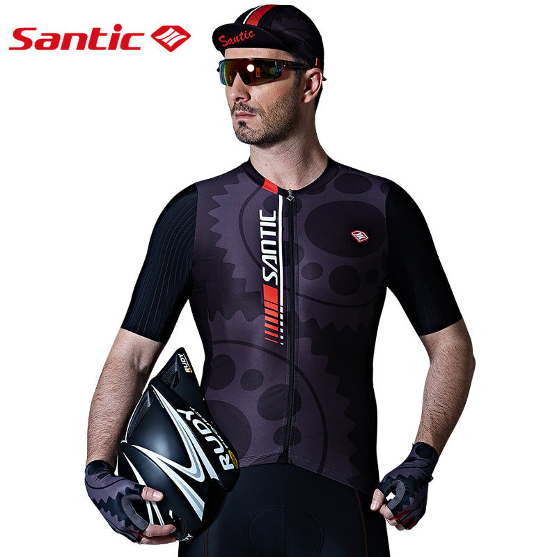Santic Alloy Men's Short Sleeve Cycling Jersey