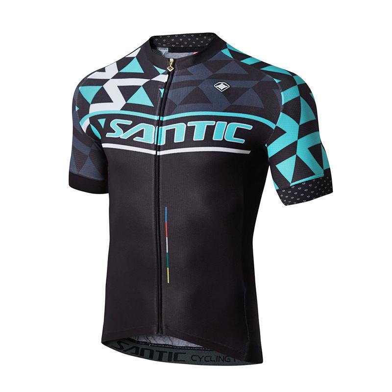 Santic Prism Men's Short Sleeve Cycling Jersey