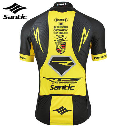 Santic RTS Pro Cycling Team Kit Yellow
