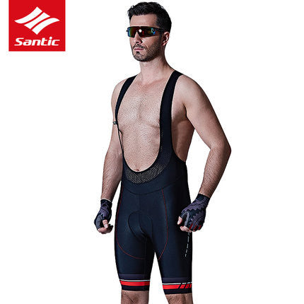 Santic Alok Men's Cycling Bib Shorts