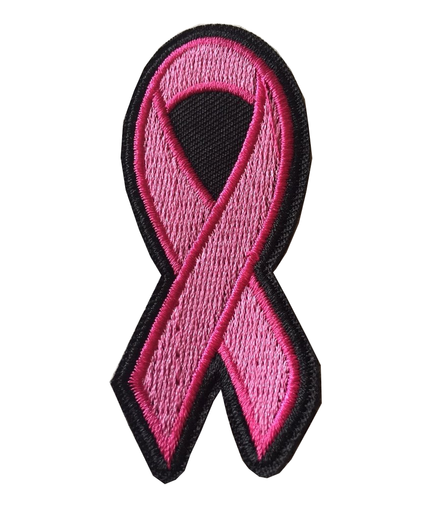 Sew on patch Pink Ribbon