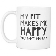 My Pit Makes Me Happy.. - Pupvision - 2