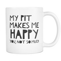 My Pit Makes Me Happy.. - Pupvision - 1