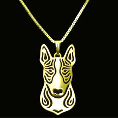 Pit Bull Pendant Animal Silver Necklace - Pupvision - 4