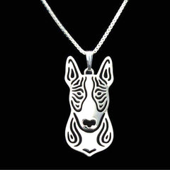 Pit Bull Pendant Animal Silver Necklace - Pupvision - 3
