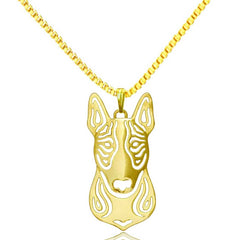 Pit Bull Pendant Animal Silver Necklace - Pupvision - 2