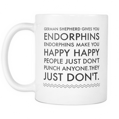 German Shepherd Gives You Endorphins... - Pupvision - 2