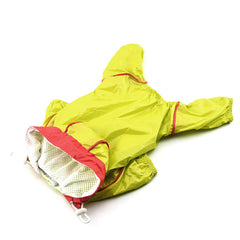 Small Pet Dog Hoody Jacket Rain Coat Waterproof Clothes Slicker Jumpsuit Apparel - Pupvision - 5
