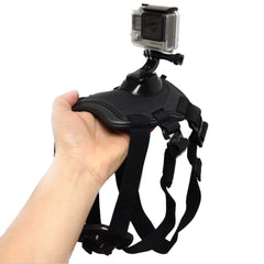 Tripods For GoPro Accessories Adjustable Dog Fetch Harness Chest Strap Belt Mount For Gopro Hero 4 3 SJ4000 Action Sport Camera - Pupvision - 4