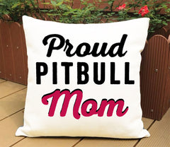 Proud Pit bull Mom-Dad