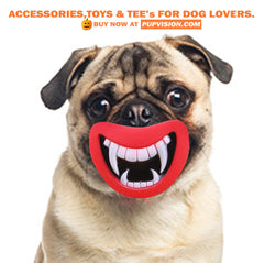 *New Durable Safe Funny Squeak  Devil's Lip Dog Toy