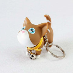 Multicolor Cute Cat Keychains