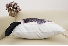 Special-shaped Pug Cushion Cover