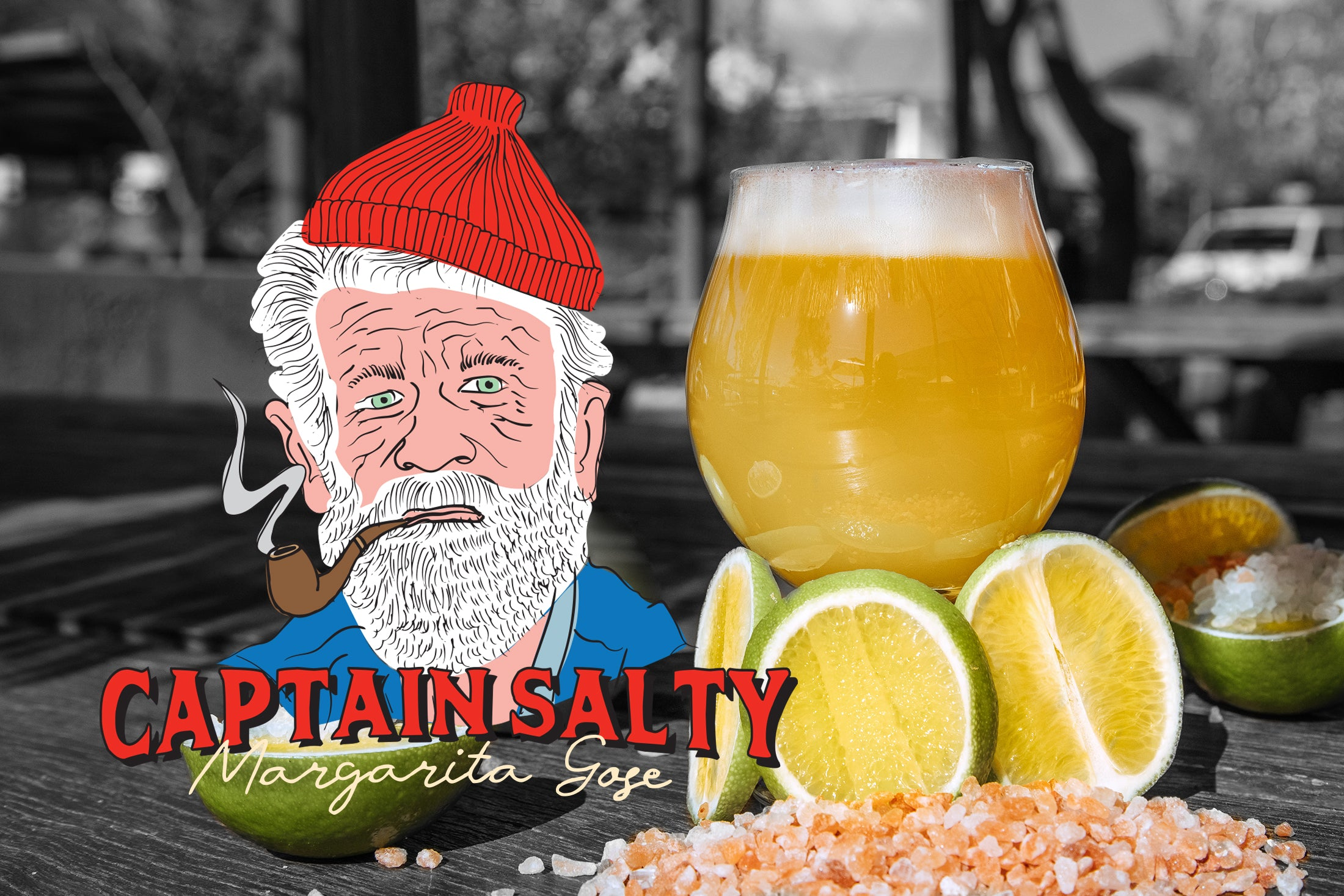 Our latest Special Release 'Captain Salty Margarita Gose' now pouring at the Taproom!