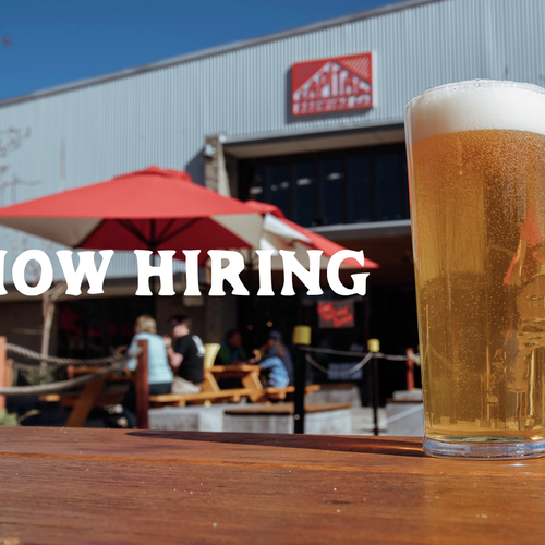Now hiring taproom crew for summer!!