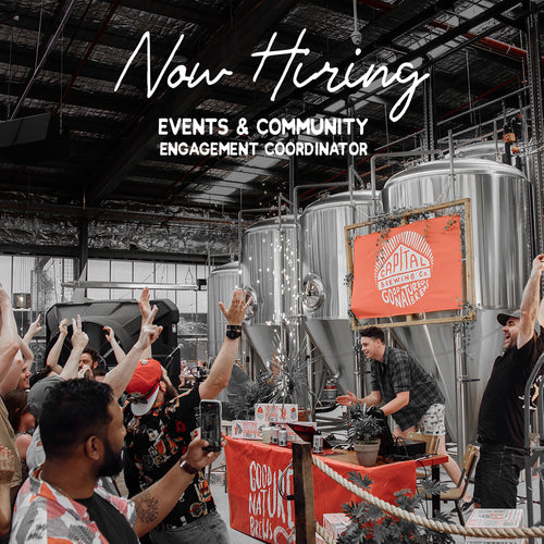 Now Hiring - Events & Community Engagement Coordinator