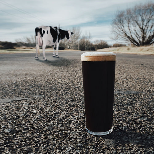 Our latest Special Release 'Dairy Road Milk Stout' now pouring at the taproom